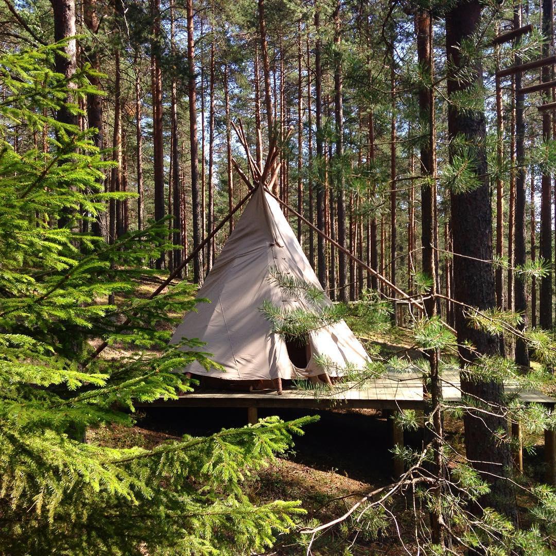 Совсем скоро в GREENVALD Парк Скандинавия  появится уютный типи кемпинг, каждый домик на 4-6 персон с собственной террасой и видом на озеро  Координаты: 60.287649, 29.744828