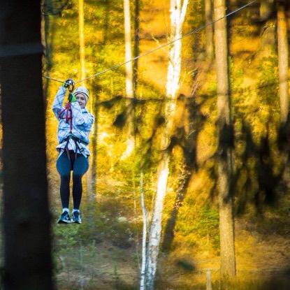 Увидимся в следующем сезоне Веревочный парк GREENVALD Парк Скандинавия уже скучает по вашим счастливым лицам Координаты: 60.287649, 29.744828